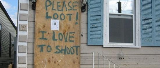 Hurricane Sandy Looting Planned via Twitter