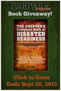 FB, Tweet, Pin and Blog Image for Disaster Preparedness Giveaway