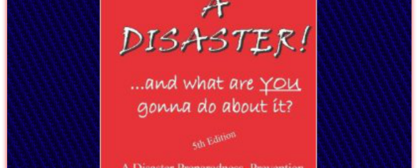 "You could Win this Life-Saving Book: ""It's a Disaster…"""