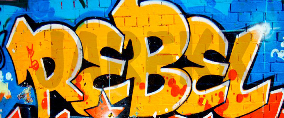 Write a word in graffiti